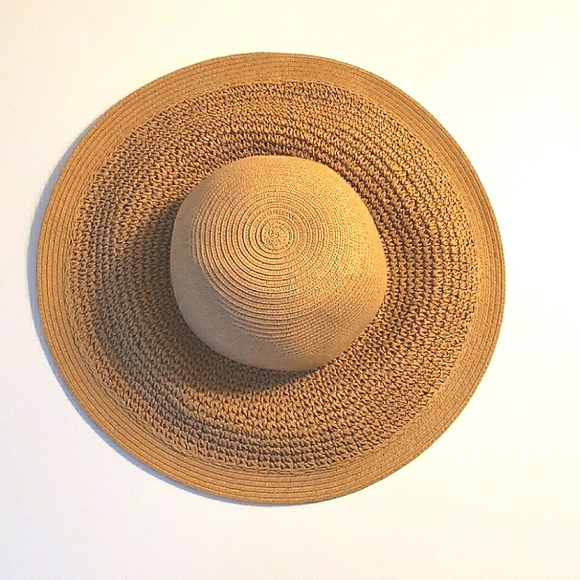 J. Crew Straw Paper Beach Hat - Never Worn